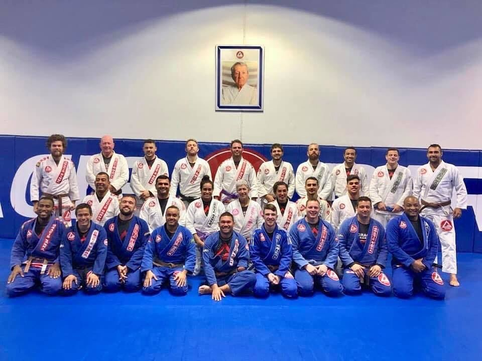 ICP 2019. The Gracie Barra Instructor program kicked off again last night. Great to be a part of thi...