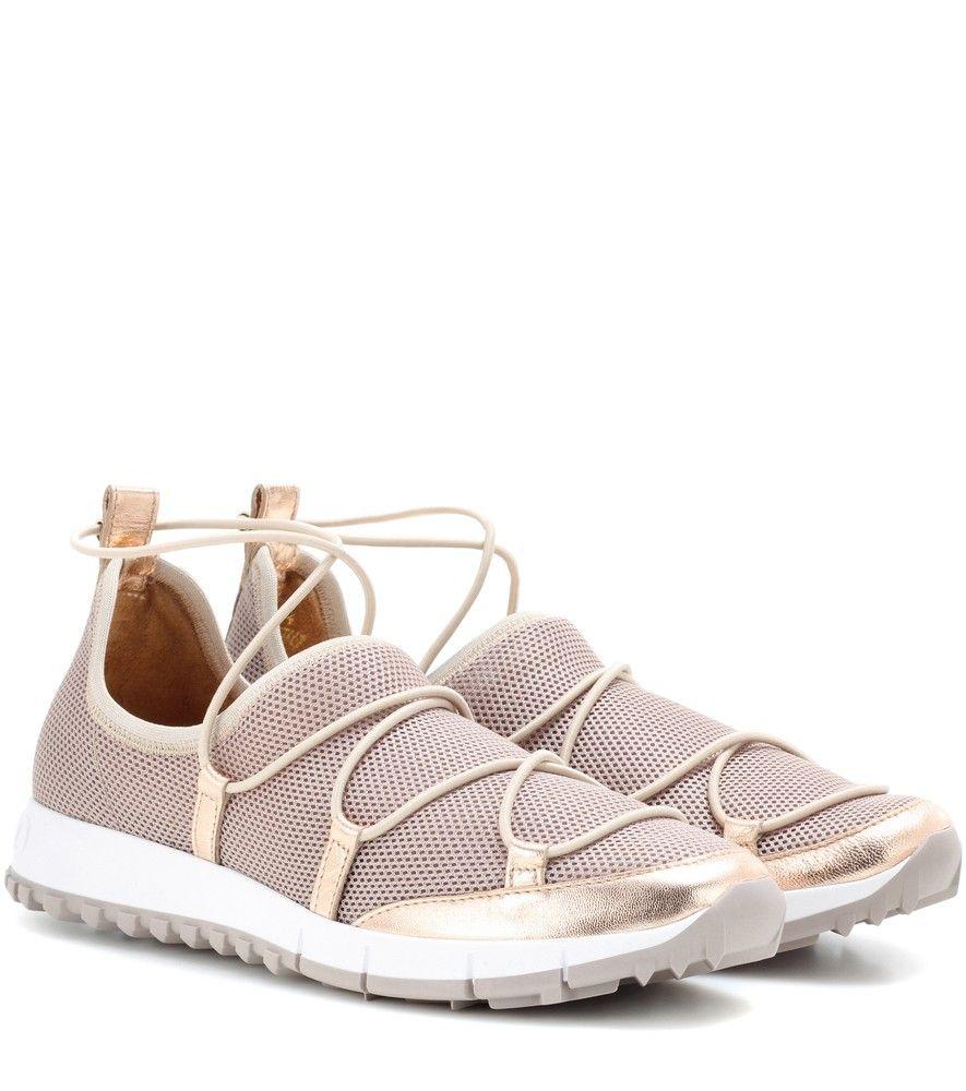Jimmy Choo Chaussures De Sport Andrea - Blanc aFiUaz