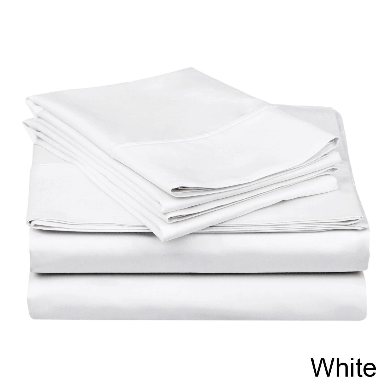 Superior thread count waterbed deep pocket cotton sateen sheet