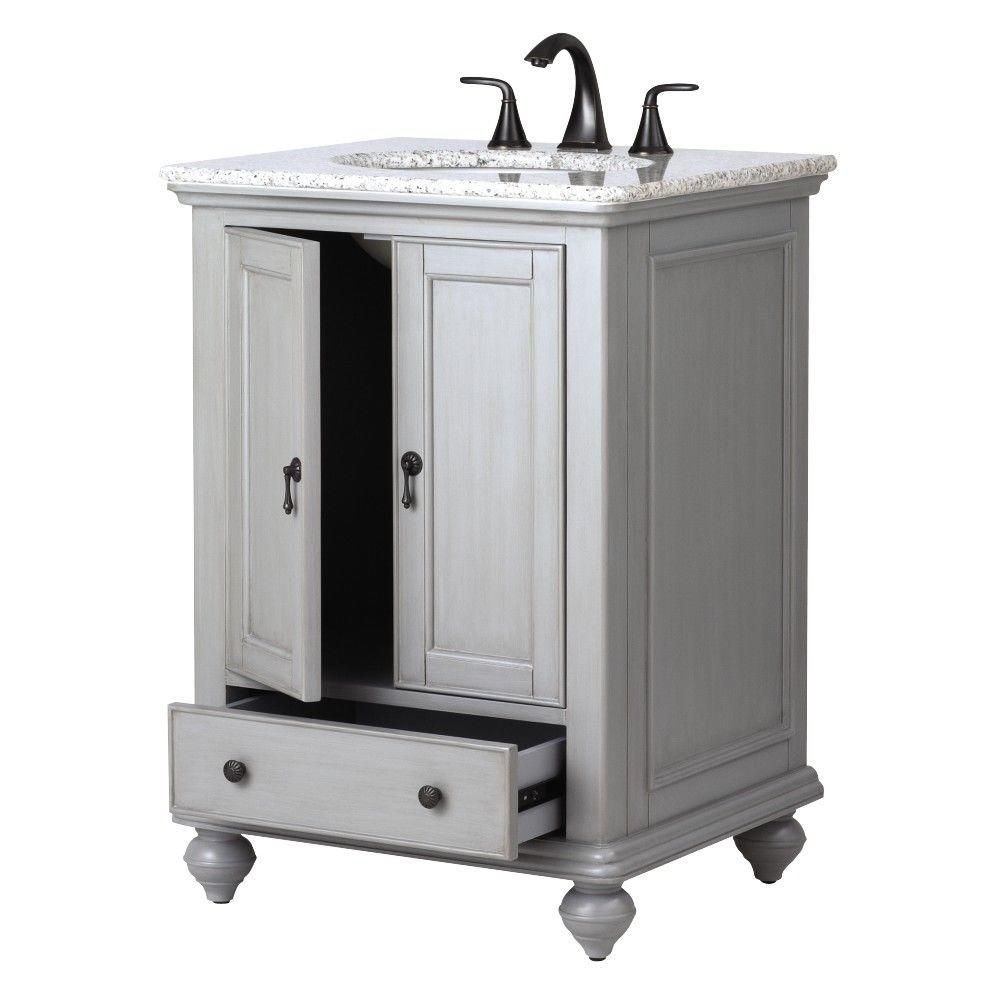 home decorators collection newport 25 in w x 21 1 2 in d on home depot vanity id=24898