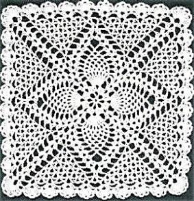 Blog sobre crochetadas y ganchillo patrones tutoriales - Patrones tapetes ganchillo ...