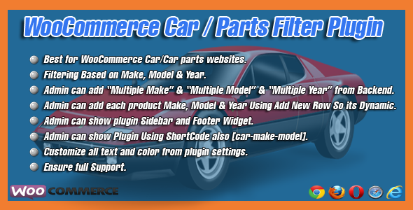 WooCommerce Car/Parts Filter Plugin | wordpress plugins