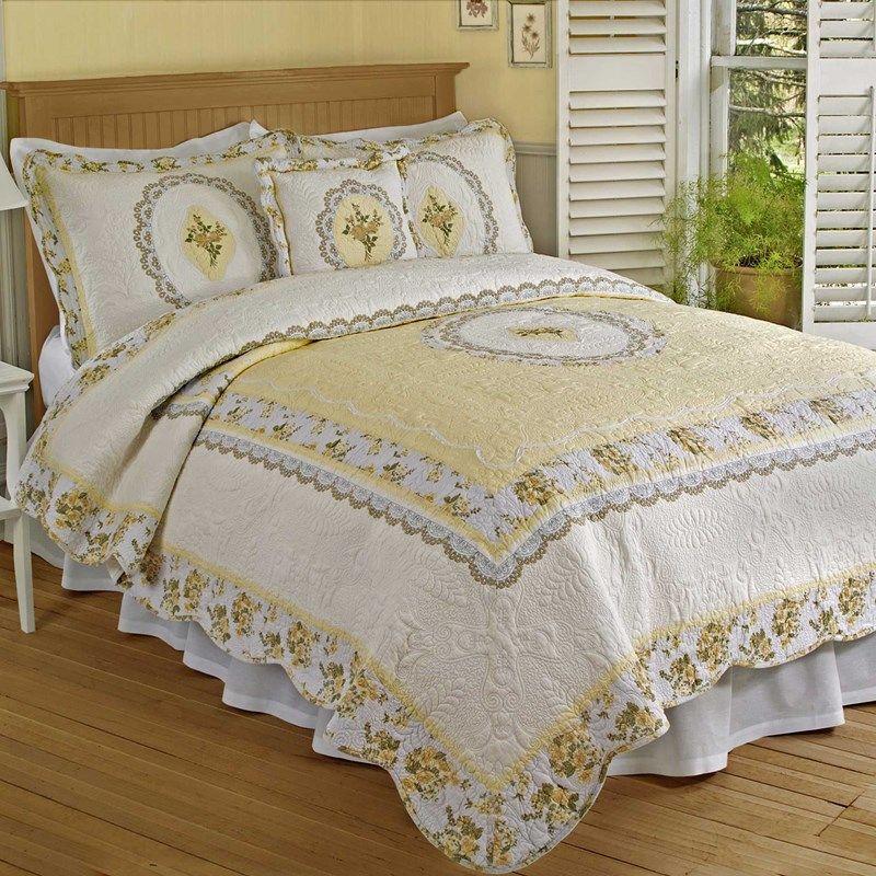 Classic Cameo Quilt King Matching Bedroom Set Queen Quilt