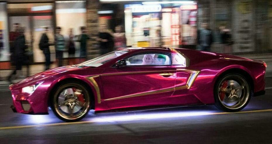Vaydor Suicide Squad Holographic Car Need For Speed