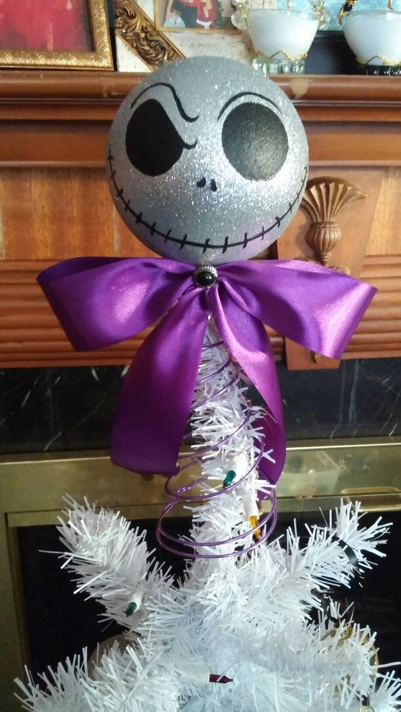 Check out this item in my Etsy shop https://www.etsy.com/listing/259218153/nightmare-before-christmas-tree-topper