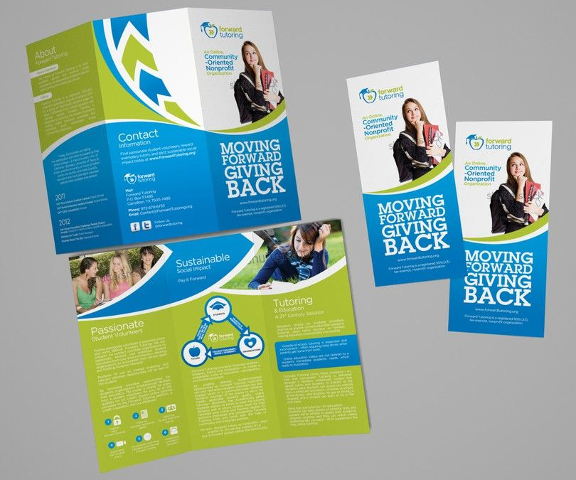 Freelance Guaranteed Brochure Design Nonprofit Forward Tutoring