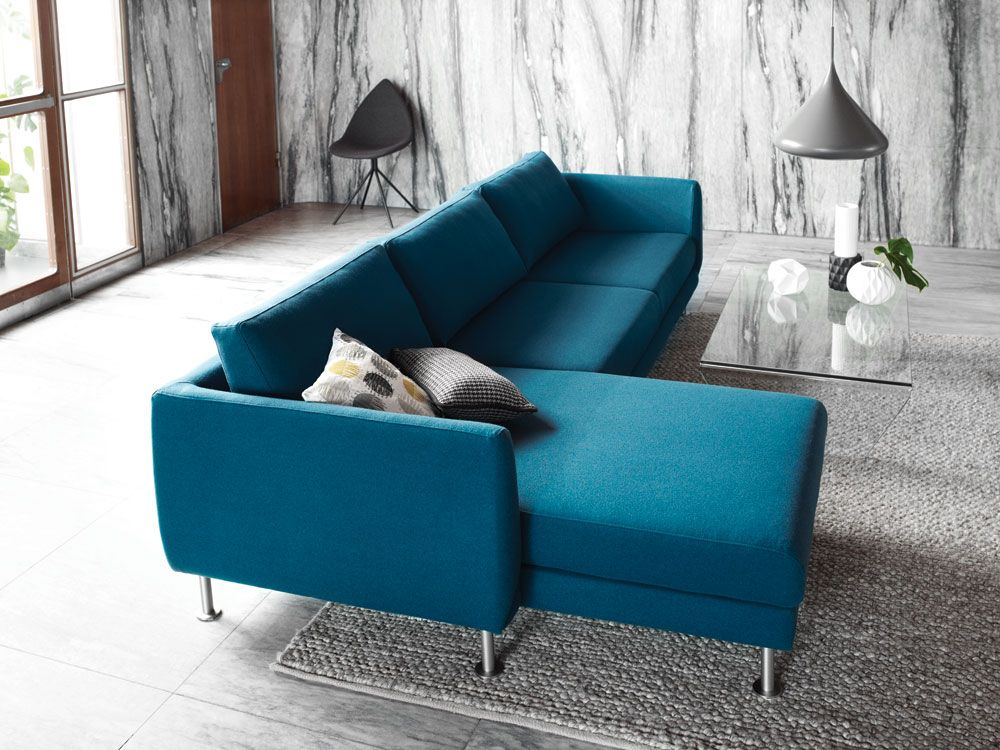 Fargo Sofa Designed By Anders Norgaard For Boconcept Here In Petrol