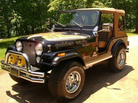 Golden Eagle Edition 1978 Jeep Cj5 V8 Jeep Cj5 Jeep Golden