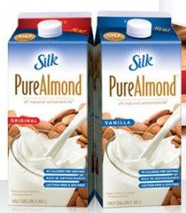 1 25 Off 2 Silk Pure Almond Coupon Silk Almond Milk Almond Milk Recipes Milk Coupons