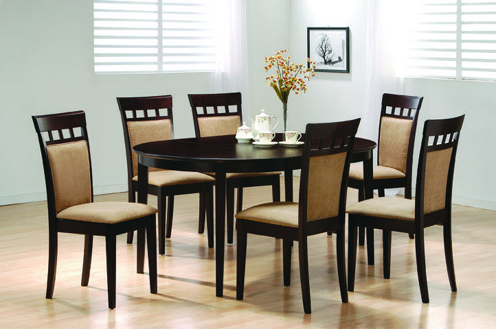 Dining Set  Dining Room Furniture  Pinterest  Dining Sets And Room Magnificent Oval Dining Room Table And Chairs Design Inspiration