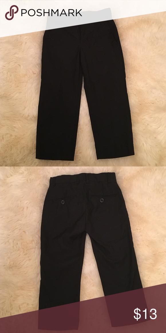 Toddler Boys Black Dress Pants Dress Pants Formal And Conditioner