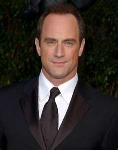 """I'm sorry. I'm a little obsessed with Christopher Meloni. *SIGH* I miss him on SVU. I mean, its cool that he's a vampire now on """"True Blood"""" but man, I just really miss my Elliot Stabler."""