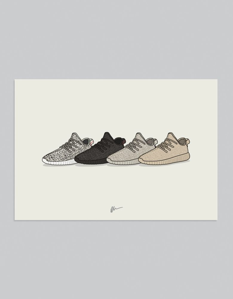 349705695 Image of ☆ NEW ☆ YEEZY BOOST 350 COLLECTION