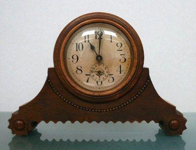 MAUTHE German 1920s   Clock, Vintage clock, Mantel clock