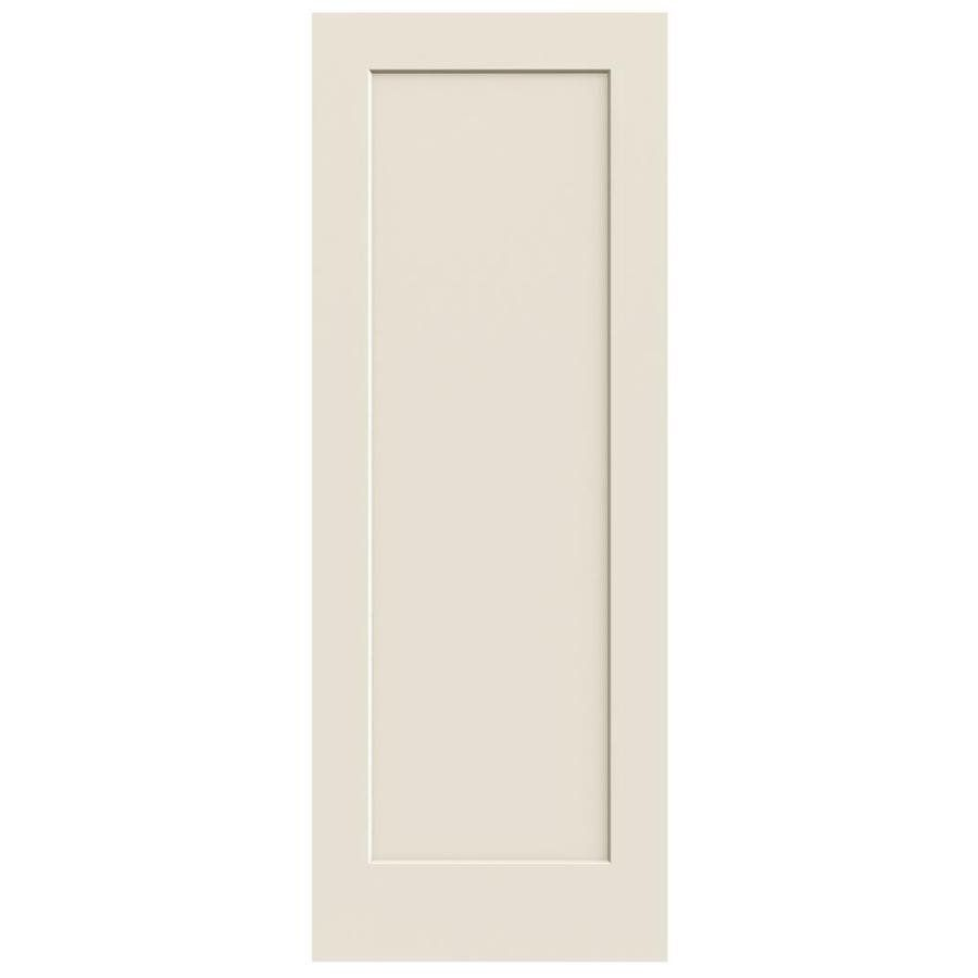 28 In X 80 In 1 Panel Square Smooth Interior Slab Door Slab Door Reliabilt Interior Closet Doors