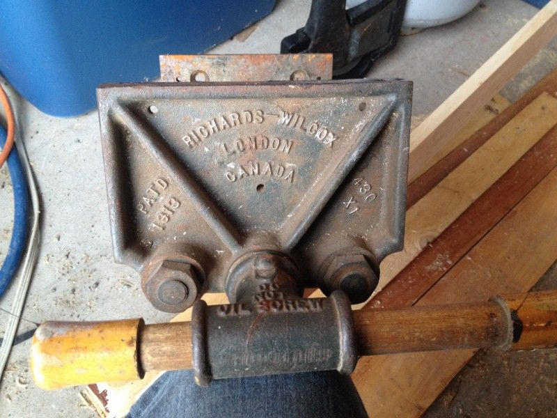 Old Richards Wilcox Bench Vise Woodworking Terms Woodworking Kits Woodworking Logo