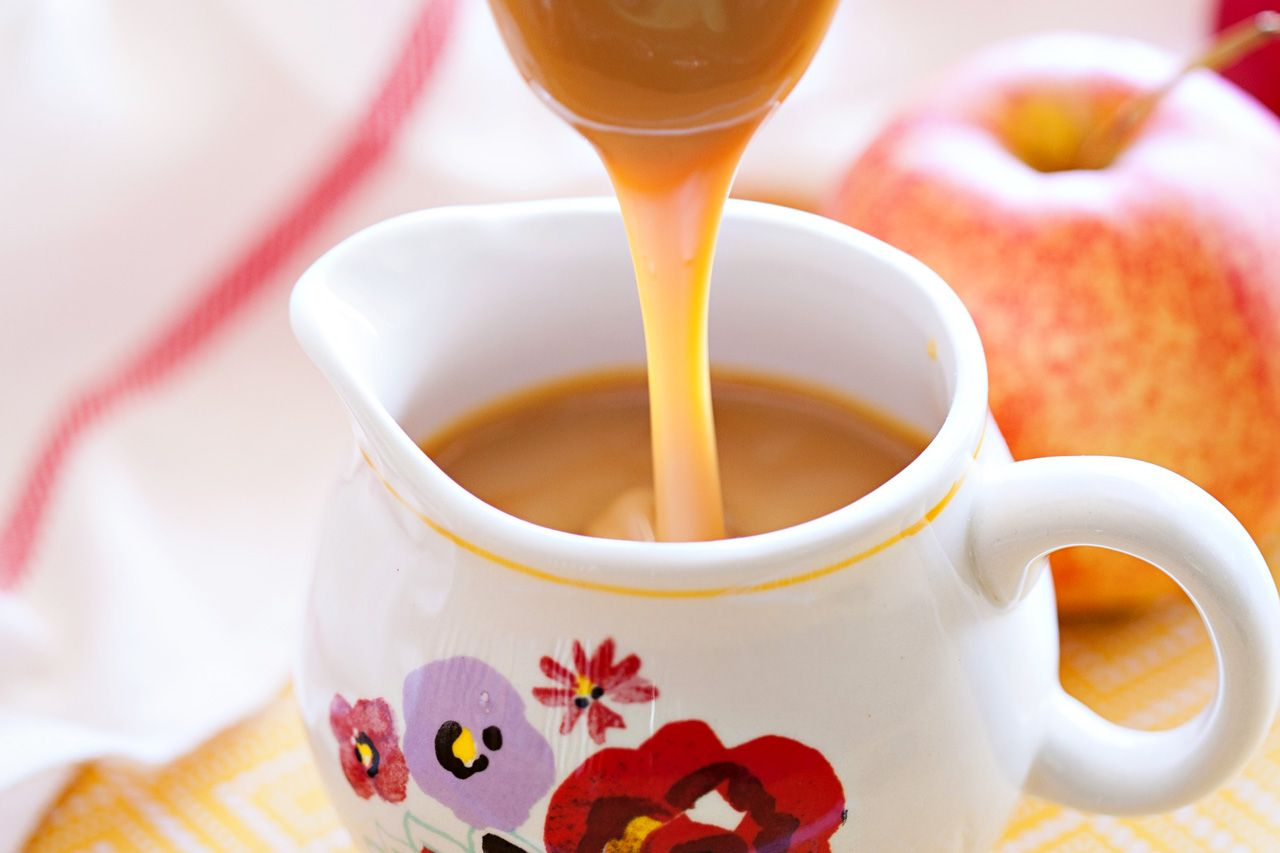 how to make caramel with condensed milk without boiling