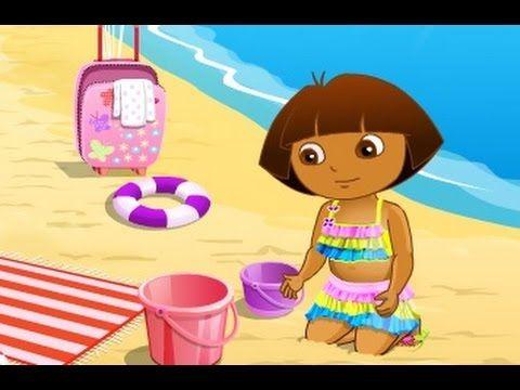 كرتون دورا مغامرات دورا على الشاطئ العاب كرتون للاطفال كاملة Cartoon Songs Kids Singing Kids Nursery Rhymes