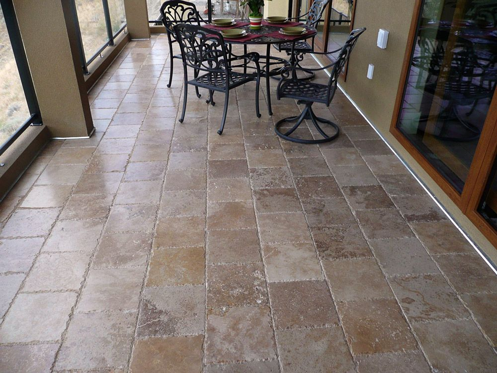 Reasons To Use Travertine Tile And Pavers Flooring Pinterest