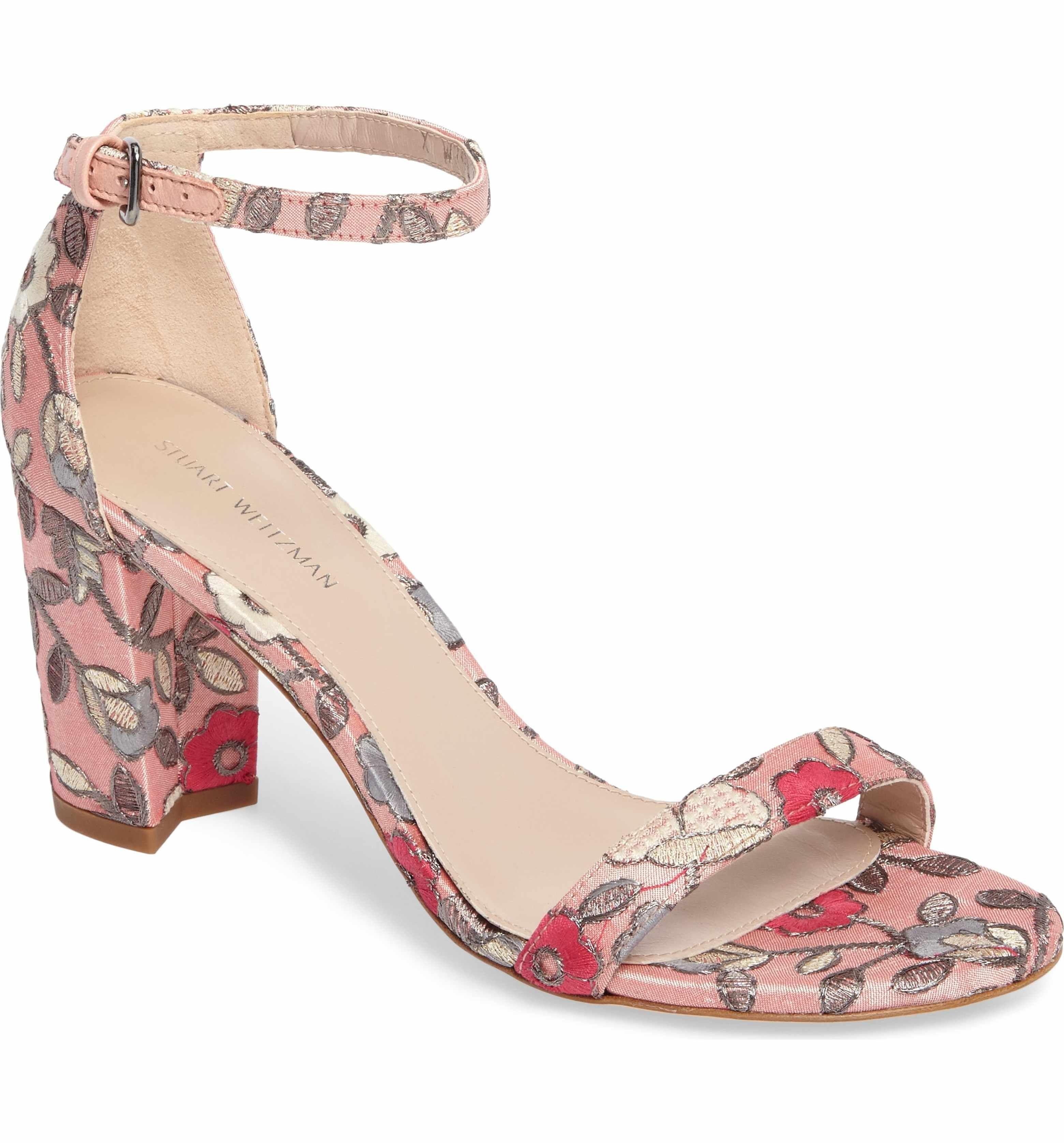 b7e425f3357 Main Image - Stuart Weitzman NearlyNude Ankle Strap Sandal (Women ...
