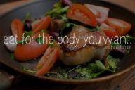 Food is fuel.