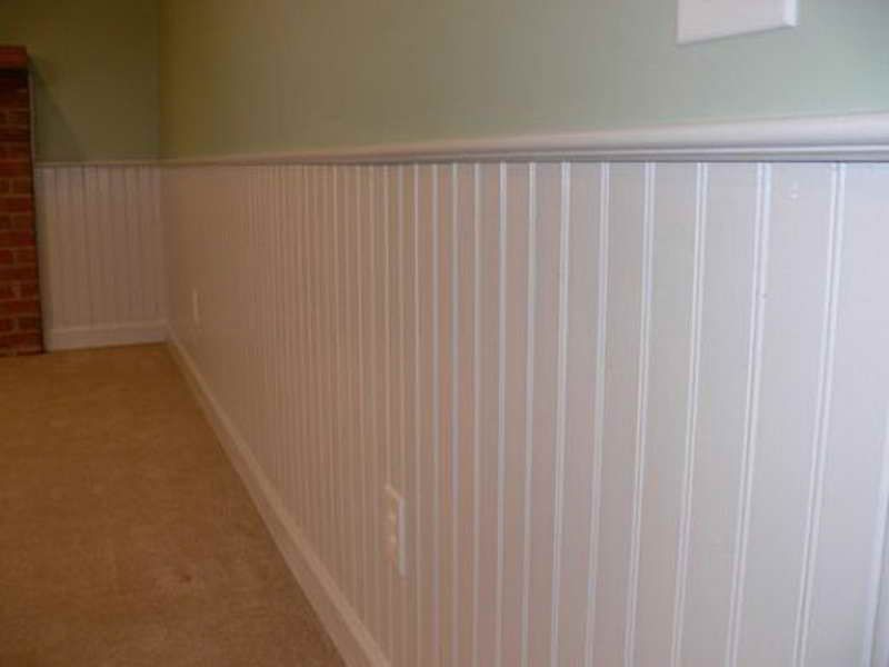 Bead Board Wainscoting (With images) | Beadboard ...