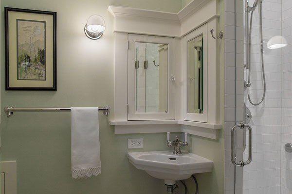 Bown Powder Sink Craftsman Bathroom Bathroom Design Craftsman
