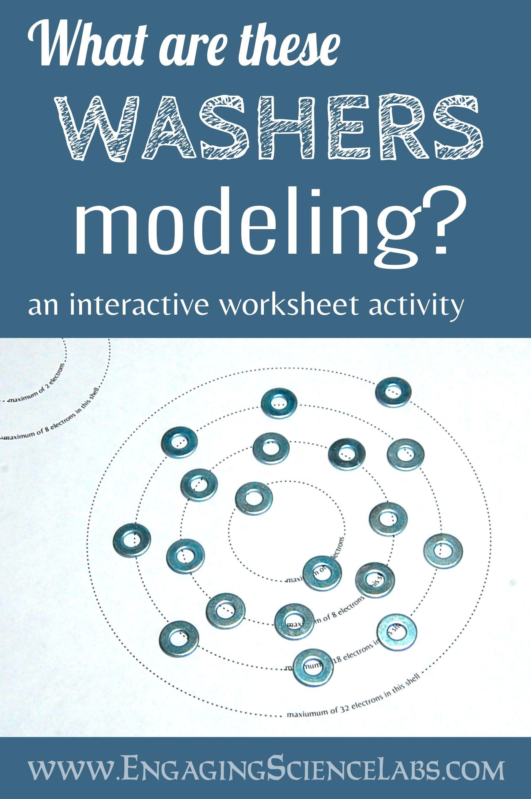 Constructing Bohr Models A Manipulative Worksheet