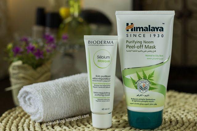 عنايتي الأسبوعية بالبشرة التفاصيل في المدونة Bioderma Shampoo Bottle Peel Off Mask
