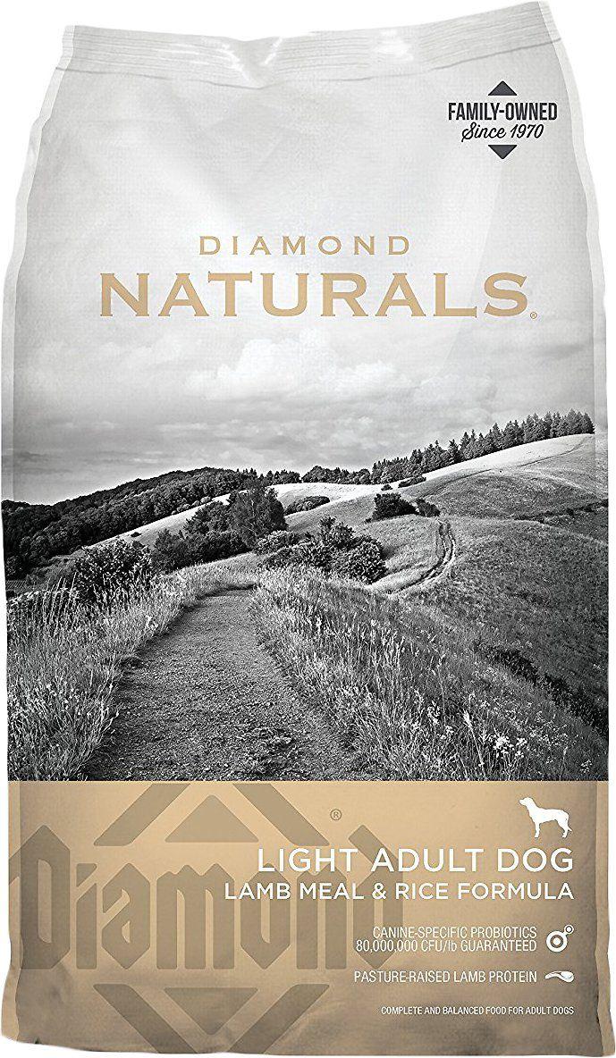 Diamond Naturals Light Formula Dry Dog Food, 30lb bag