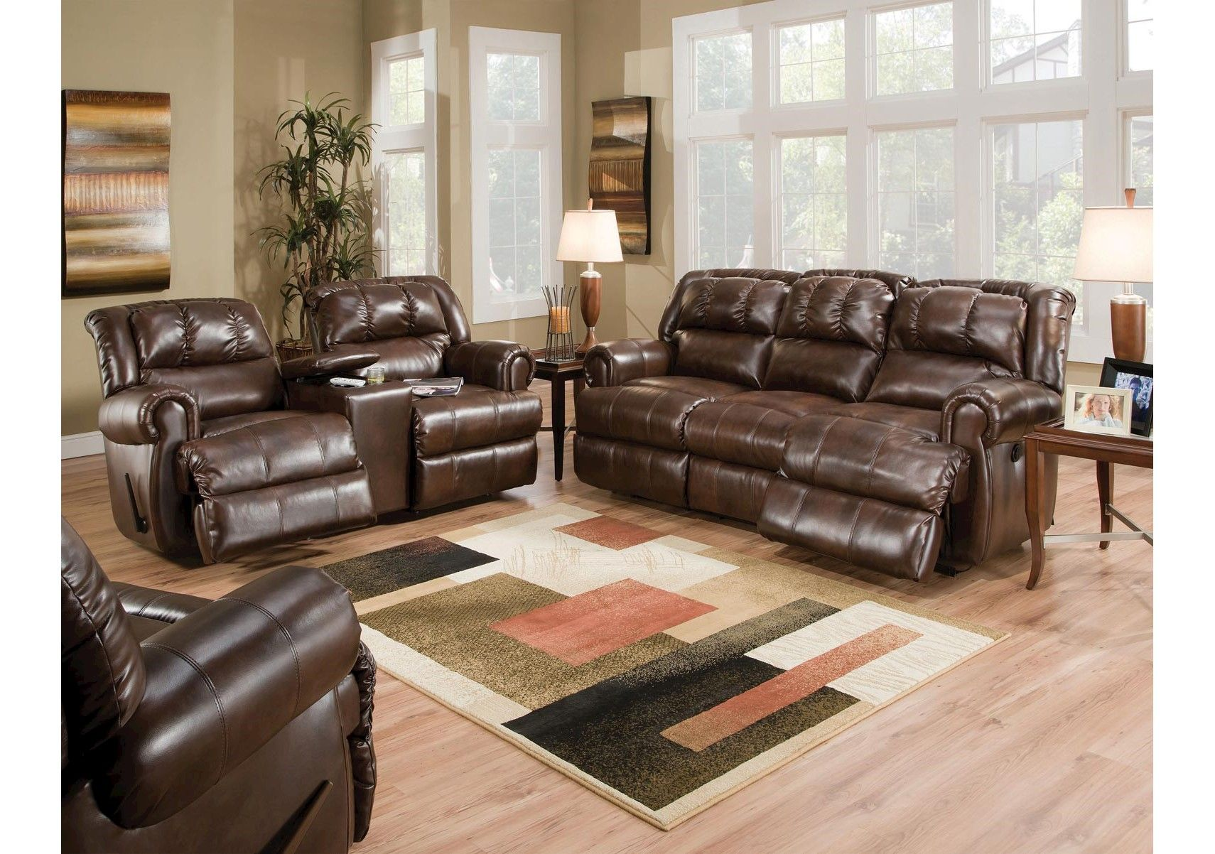 Lacks Evans 2 Pc Living Room Group