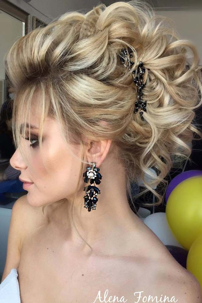 Hair Ideas For Christmas Party Part - 22: Christmas Party Hairstyles For Wavy Hair ? See More: Http://lovehairstyles.