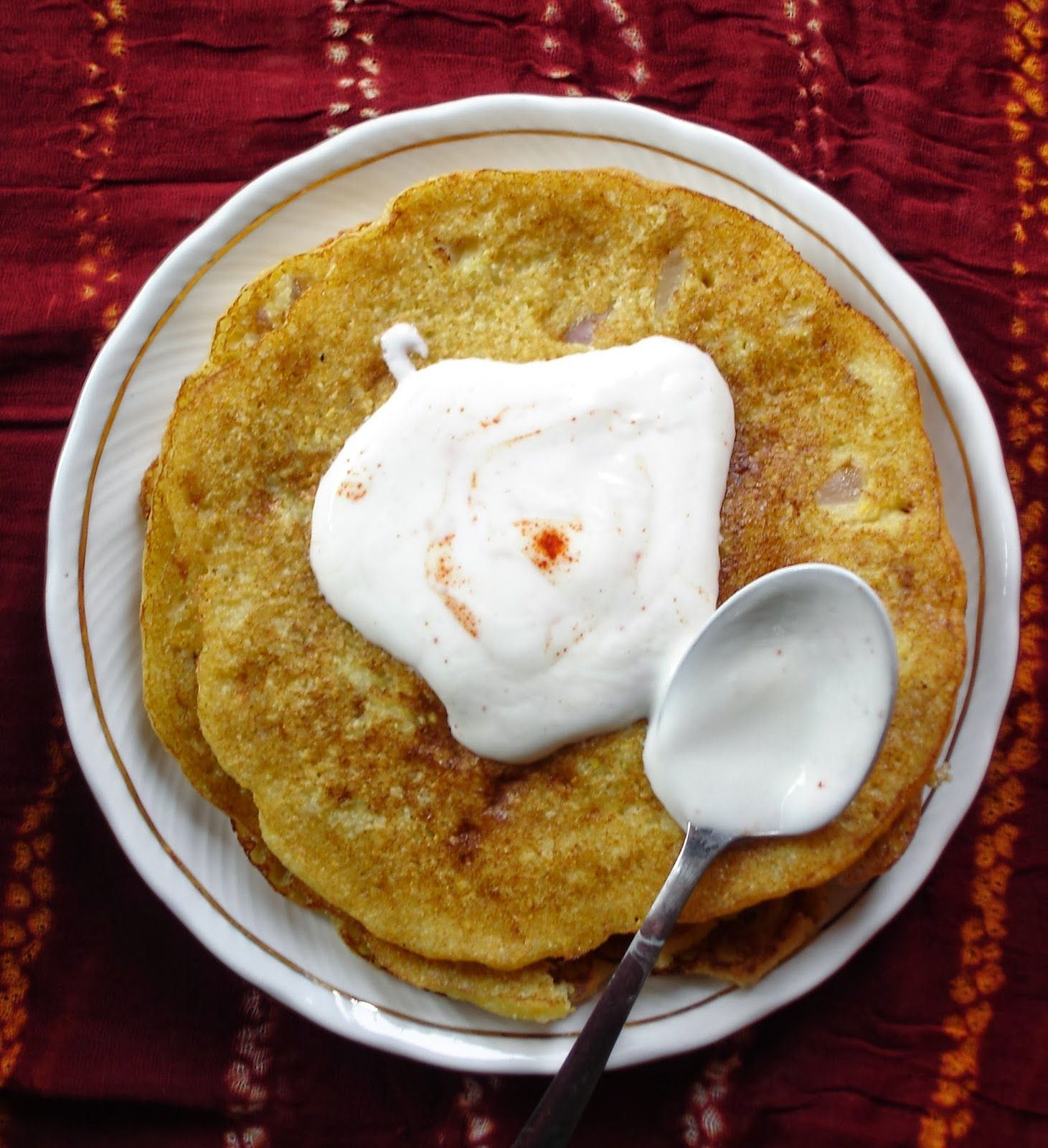 Puda Indian Crepe Gujarati food Healthy breakfast
