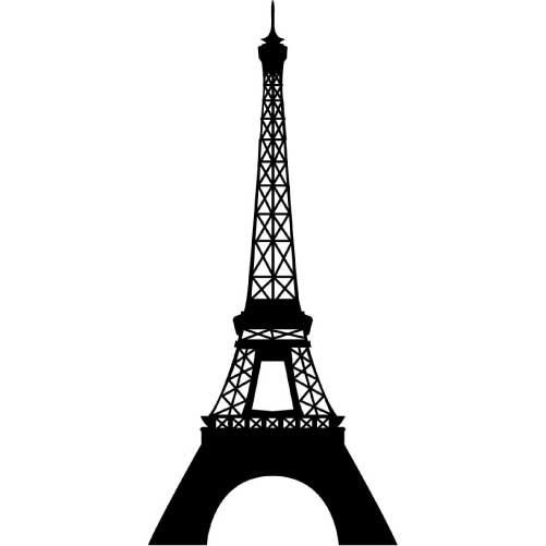 Small Eiffel Tower Wall Decor : Eiffel tower small vinyl wall decal sticker by wallstickz