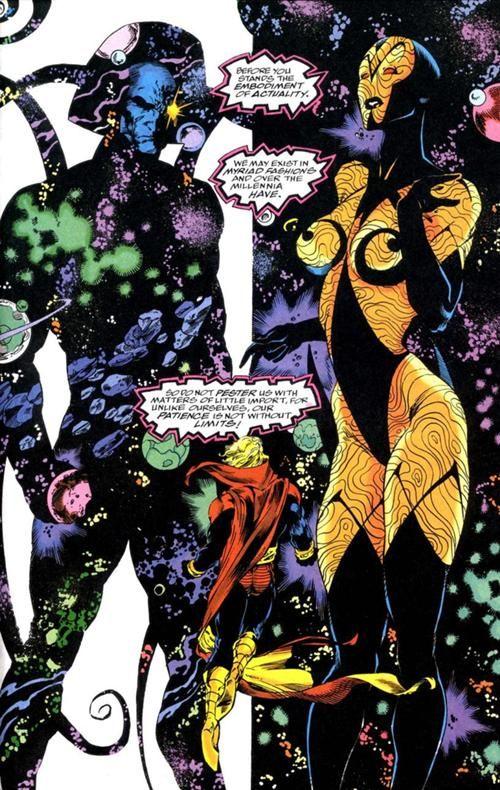 Galactus (Marvel) vs  Kismet (DC) - Battles - Comic Vine