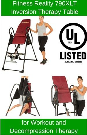 inversion table therapy does it work