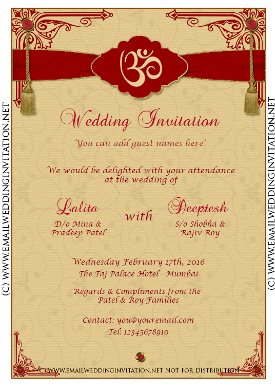 Pin by Sharmilah Sukumaran on Invitation (With images