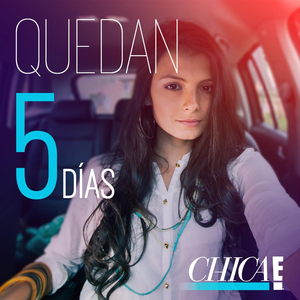 Quedan 5 días para cerrar las votaciones de #ChicaEColombia.