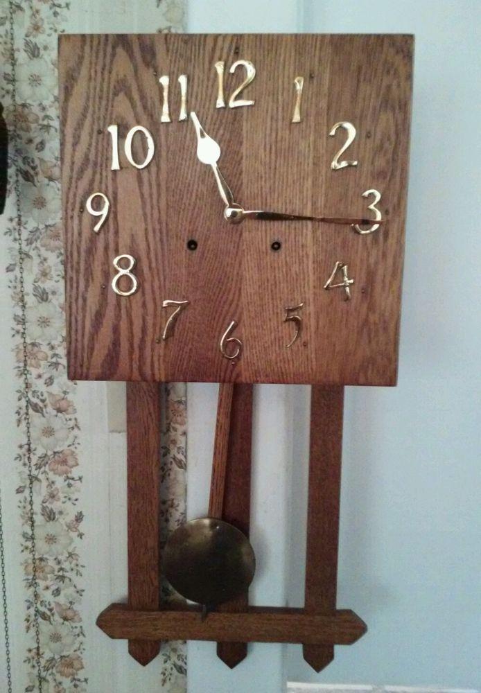 Working Antique Sessions, Mission Oak,Arts & Crafts Period Oak Wall ...