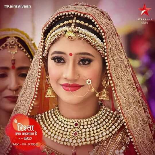 Yrkkh Kaira vivah Naira | Indian bridal makeup, Indian bridal wear, Bridal makeup