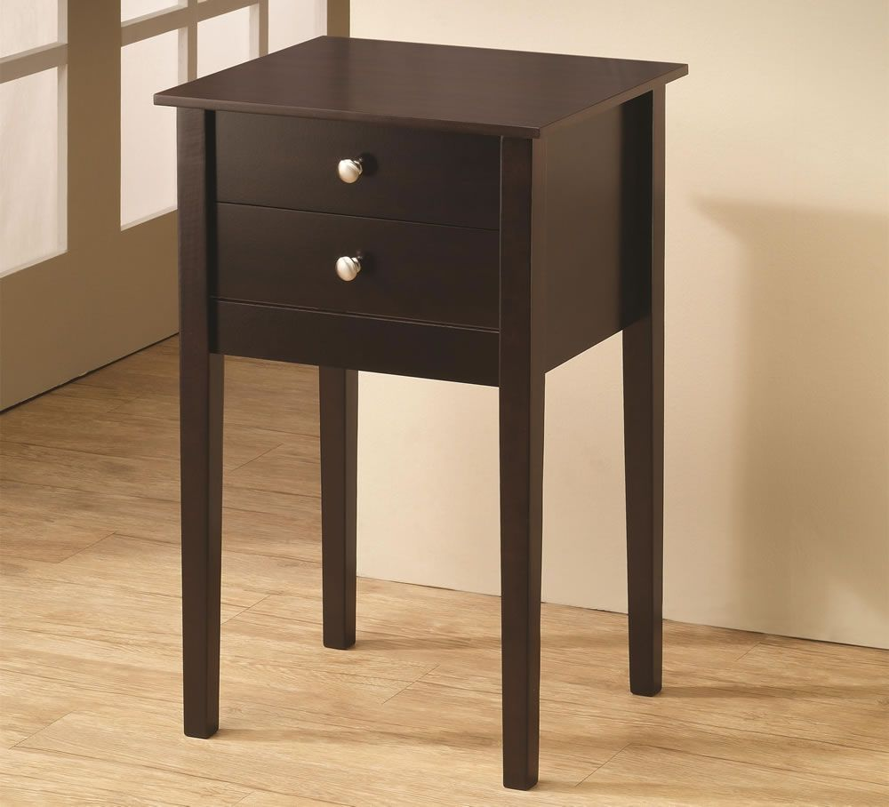 Small Accent Table With Drawer Coasterfurnituredrawers