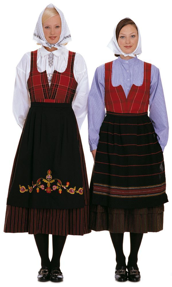 FolkCostume&Embroidery: Overview of Norwegian Costumes, part 2. The eastern…