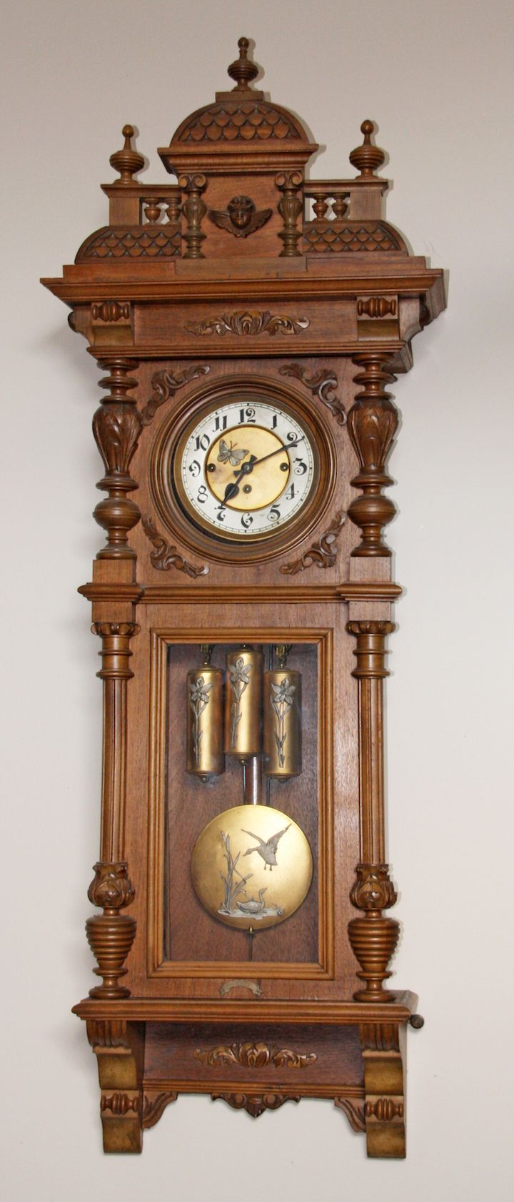 George S Antique Clocks Vintage Clock Antique Clocks For Sale Antique Wall Clock