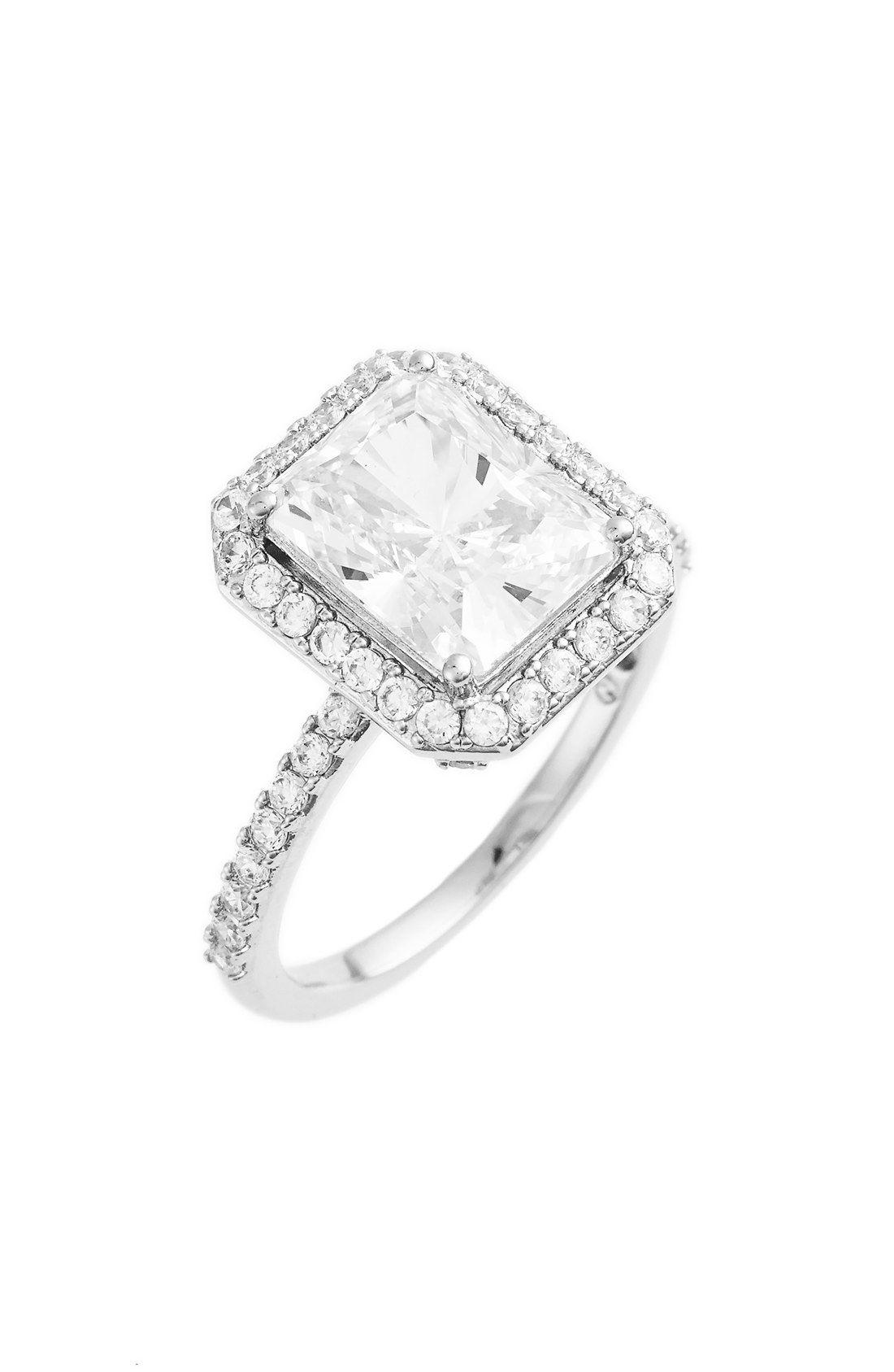 Nadri Cushion Cut Cubic Zirconia Ring Diamonds are a girls best