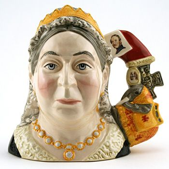 Royal Doulton Large Character Jug, Queen Victoria