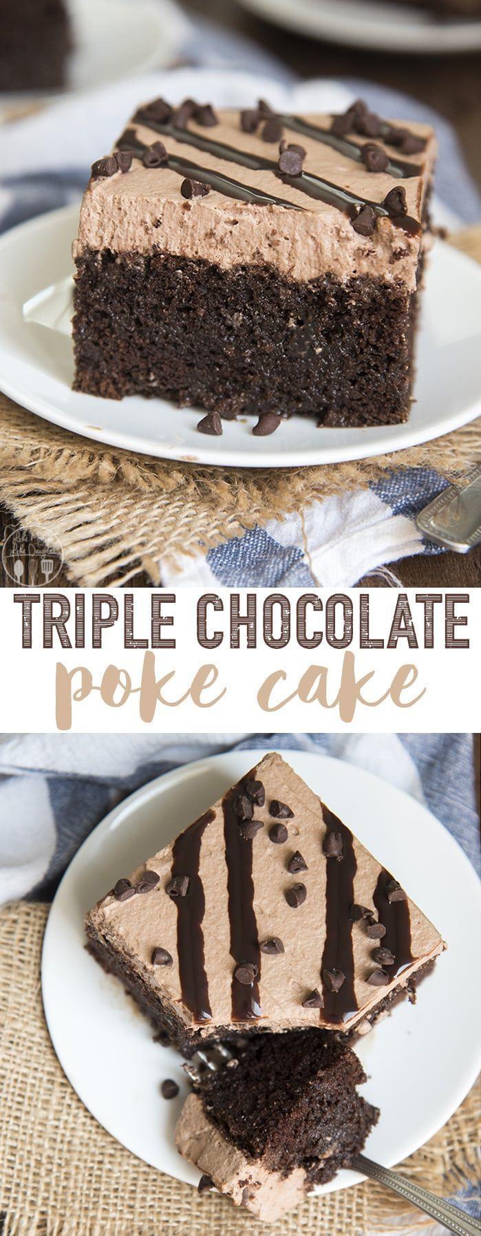 Dieser Schokoladenkuchen ist ein reichhaltiger und dekadenter Schokoladenkuchen, der mit ... -