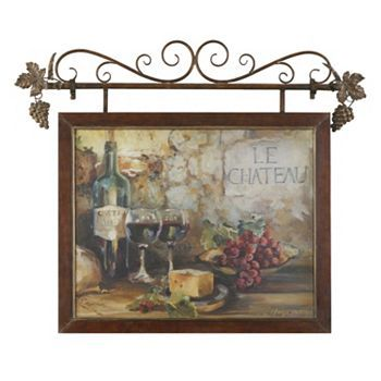 Le Chateau Framed Wall Art