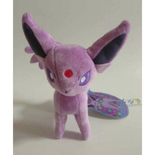 Pokemon Center 2012 Eevee Collection Espeon Standing Plush Toy