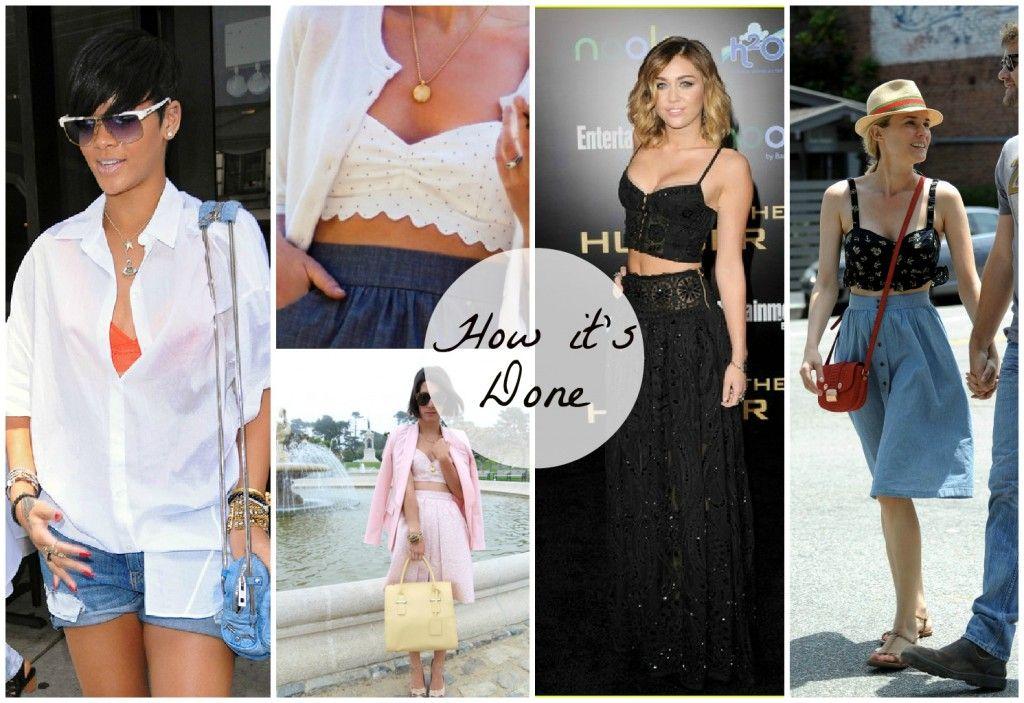 The hot new undergarment- The Bralette