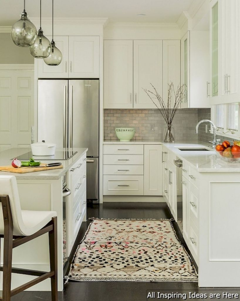 43 Cheap Small Kitchen Remodel Ideas | Kitchens, Cheap kitchen ...